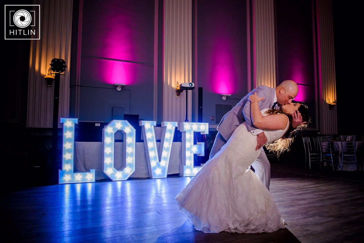 4' LOVE Light Up Letters - Photo by Hitlin Photography