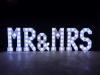 4' MR & MRS Letters - White Light - Photo by Viscosi Photography