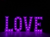 4' LOVE Letters - Purple Light - Photo by Viscosi Photography