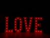 4' LOVE Letters - Red Light - Photo by Viscosi Photography