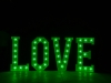 4' LOVE Letters - Green Light - Photo by Viscosi Photography