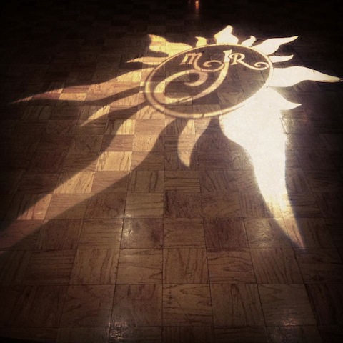 Monogram on Dance Floor @ The Century House