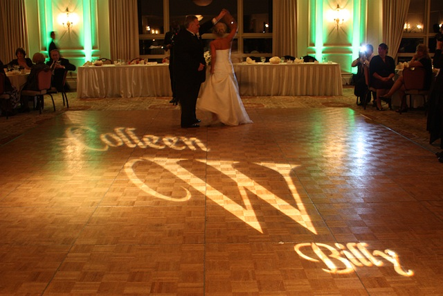Monogram & Green Up Lighting @ Wolfert's Roost Country Club (Photo by Out Of The Ordinary Photography)