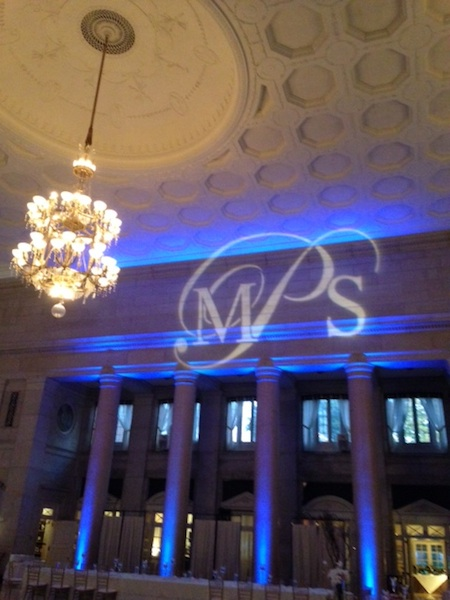 Monogram & Blue Up Lighting @ The Hall of Springs