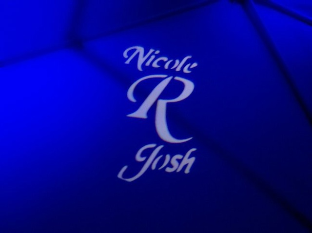 Monogram & Blue Up Lighting @ Mohawk River Country Club
