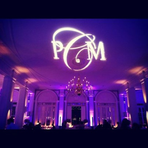 Monogram & Purple Up Lighting @ The State Room