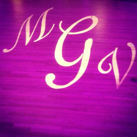 Monogram & Purple Up Lighting @ The Franklin Plaza
