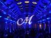 Monogram & Blue Up Lighting @ Canfield Casino