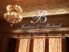 Monogram & Amber Up Lighting @ The Hall of Springs