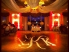Monogram & Orange Up Lighting @ Wolfert's Roost Country Club