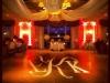 Monogram & Orange Up Lighting @ Wolfert's Roost Country Club