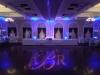 Monogram & Blue Up Lighting @ The Glen Sanders Mansion
