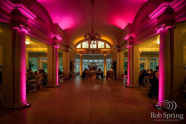 Pink Up Lighting @ The National Museum of Dance - Photo by Rob Spring Photography