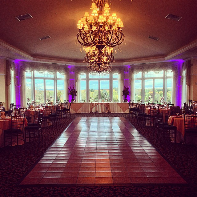 Purple Up Lighting @ The Vista at Van Patten Golf Club