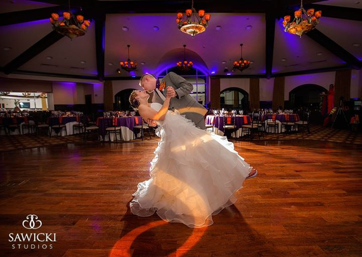 Up Lighting & Monogram @ Saratoga National Golf Club - Photo by Sawicki Photography