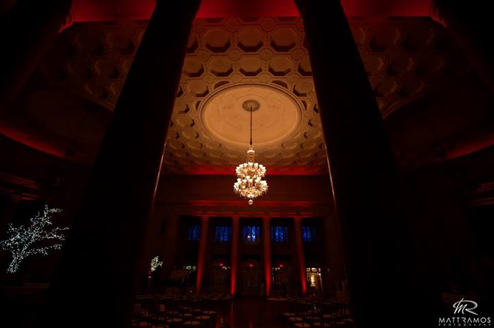Red Up Lighting @ The Hall of Springs - Photo by Matt Ramos Photography
