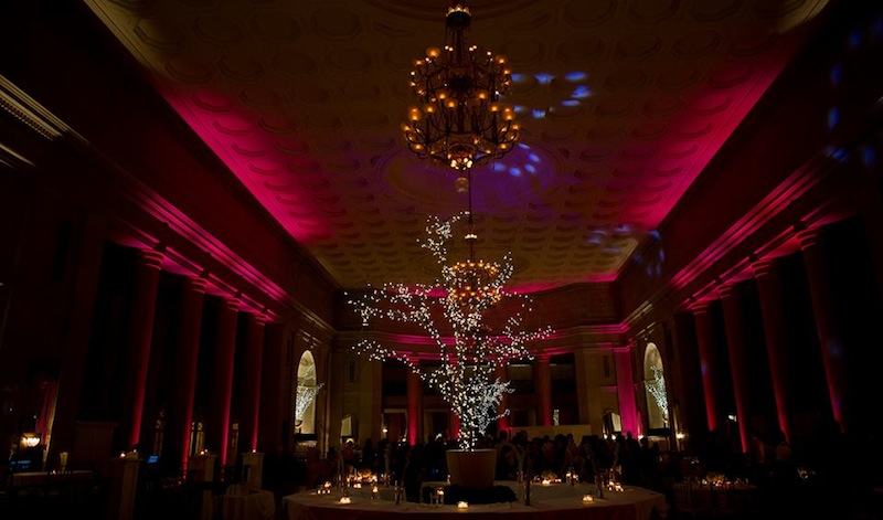 Pink Up Lighting @ The Hall of Springs - Photo by Matt Ramos Photography