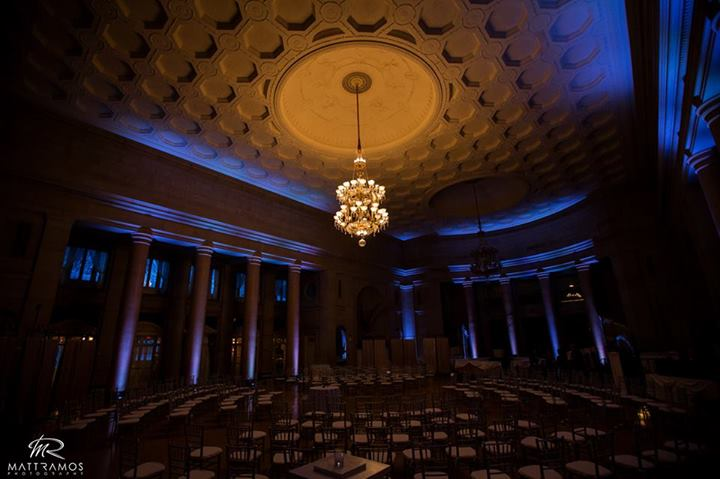 Blue Up Lighting @ The Hall of Springs - Photo by Matt Ramos Photography