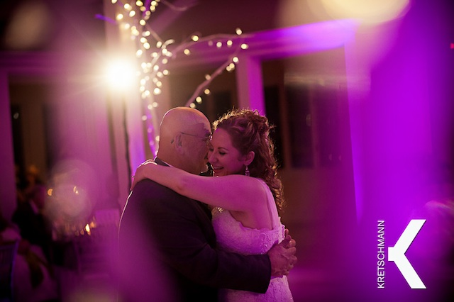 Purple Up Lighting @ The Old Daley Inn on Crooked Lake House - Photo by Kretschmann Photography
