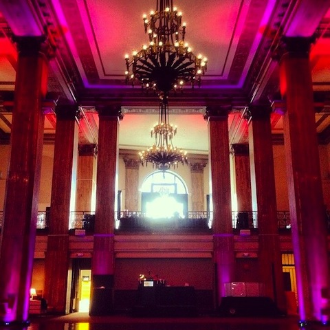 Purple Up Lighting @ 90 State Events