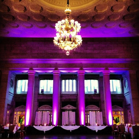 Purple Up Lighting @ The Hall of Springs