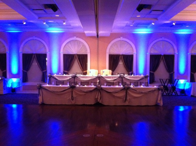 Blue Up Lighting @ Glen Sanders Mansion