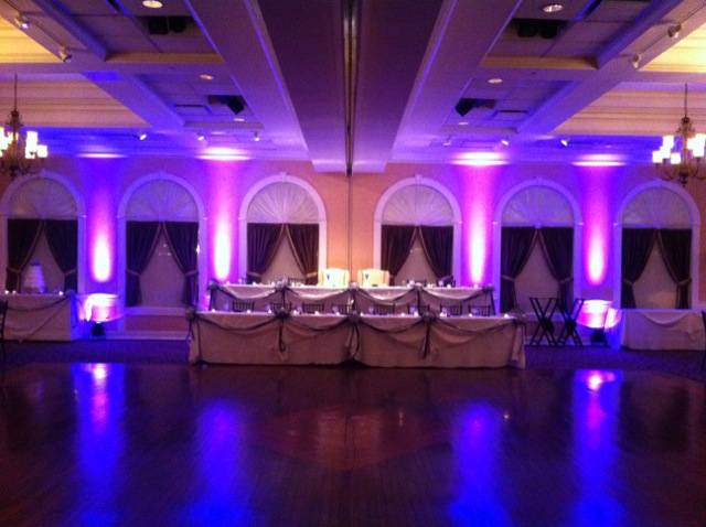 Purple Up Lighting @ Glen Sanders Mansion