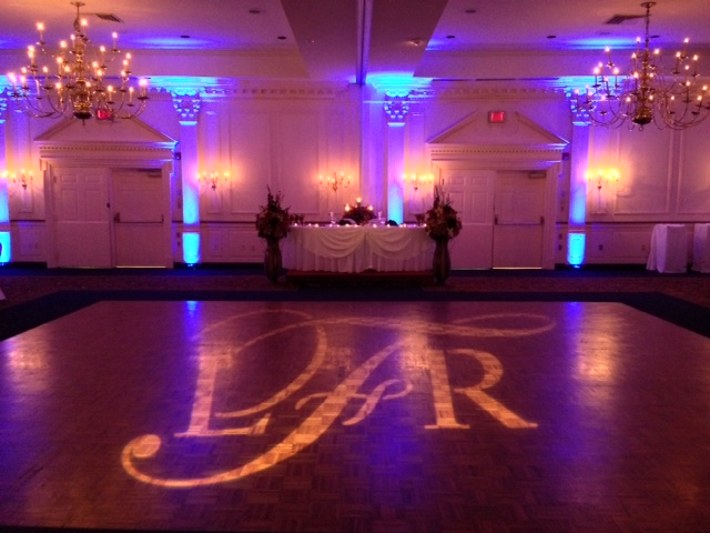 Blue Up Lighting & Monogram @ The Desmond