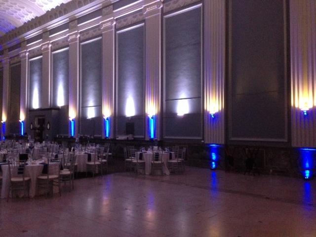 Blue Up Lighting @ Key Hall at Proctors