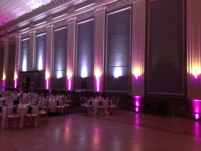 Purple Up Lighting @ Key Hall at Proctors