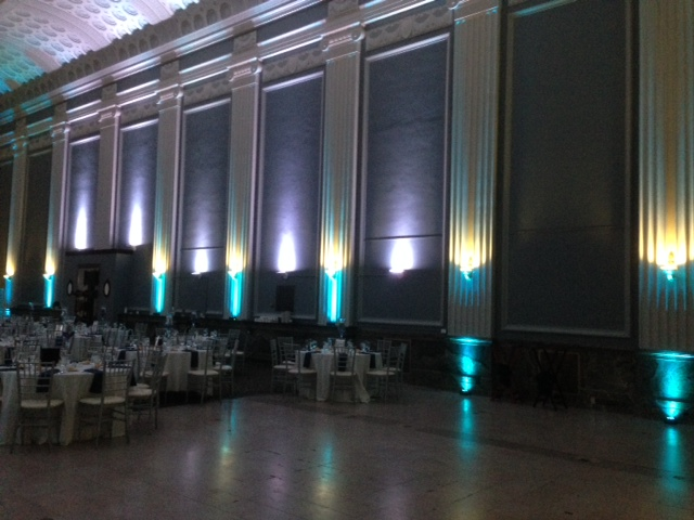 Teal Up Lighting @ Key Hall at Proctors
