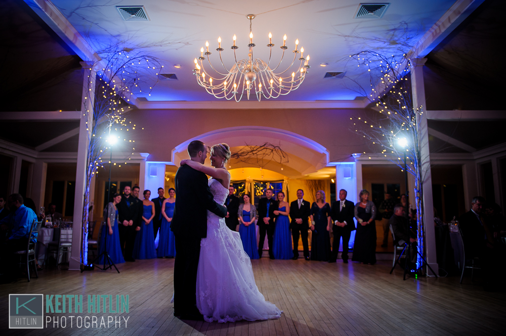 Blue Up Lighting @ The Old Daley Inn on Crooked Lake - Photo by Keith Hitlin Photography