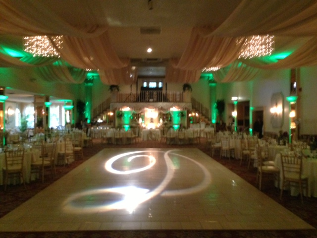 Green Up Lighting & Monogram @ Mallozzi's