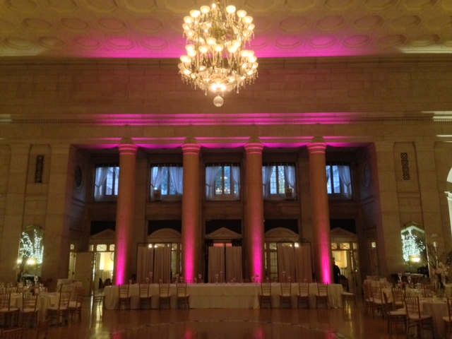 PInk Up Lighting @ The Hall of Springs
