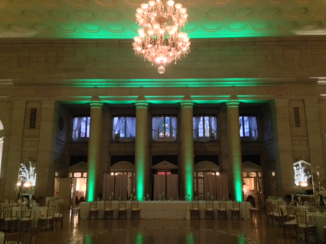Green Up Lighting @ The Hall of Springs