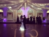 Purple Up Lighting & Monogram @ Glen Sanders Mansion