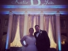 Tiffany Blue Up Lighting & Animated Monogram @ The Hall of Springs