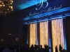 Light Blue Up Lighting & Monogram @ The Hall of Springs