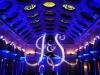 Blue Up Lighting & Monogram @ Canfield Casino