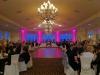 Pink Up Lighting & Monogram Light @ The Vista at Van Patten Golf Club
