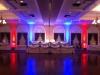 Red & Blue Up Lighting @ Glen Sanders Mansion