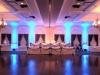 Tiffany Blue Up Lights @ Glen Sanders Mansion