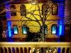 Electric Blue Up Lighting @ Longfellows