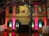 Orange & Pink Up Lighting @ Longfellows