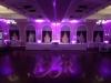 Purple Up Lighting & Monogram @ The Glen Sanders Mansion