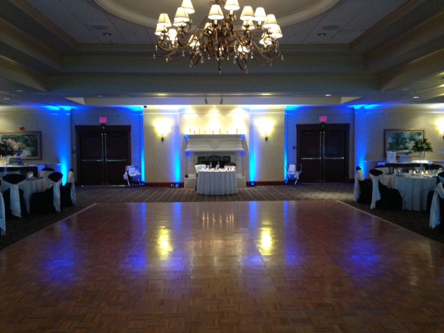 Blue Up Lighting @ Turning Stone Casino