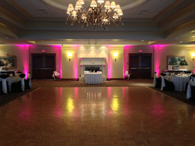Pink Up Lighting @ Turning Stone Casino