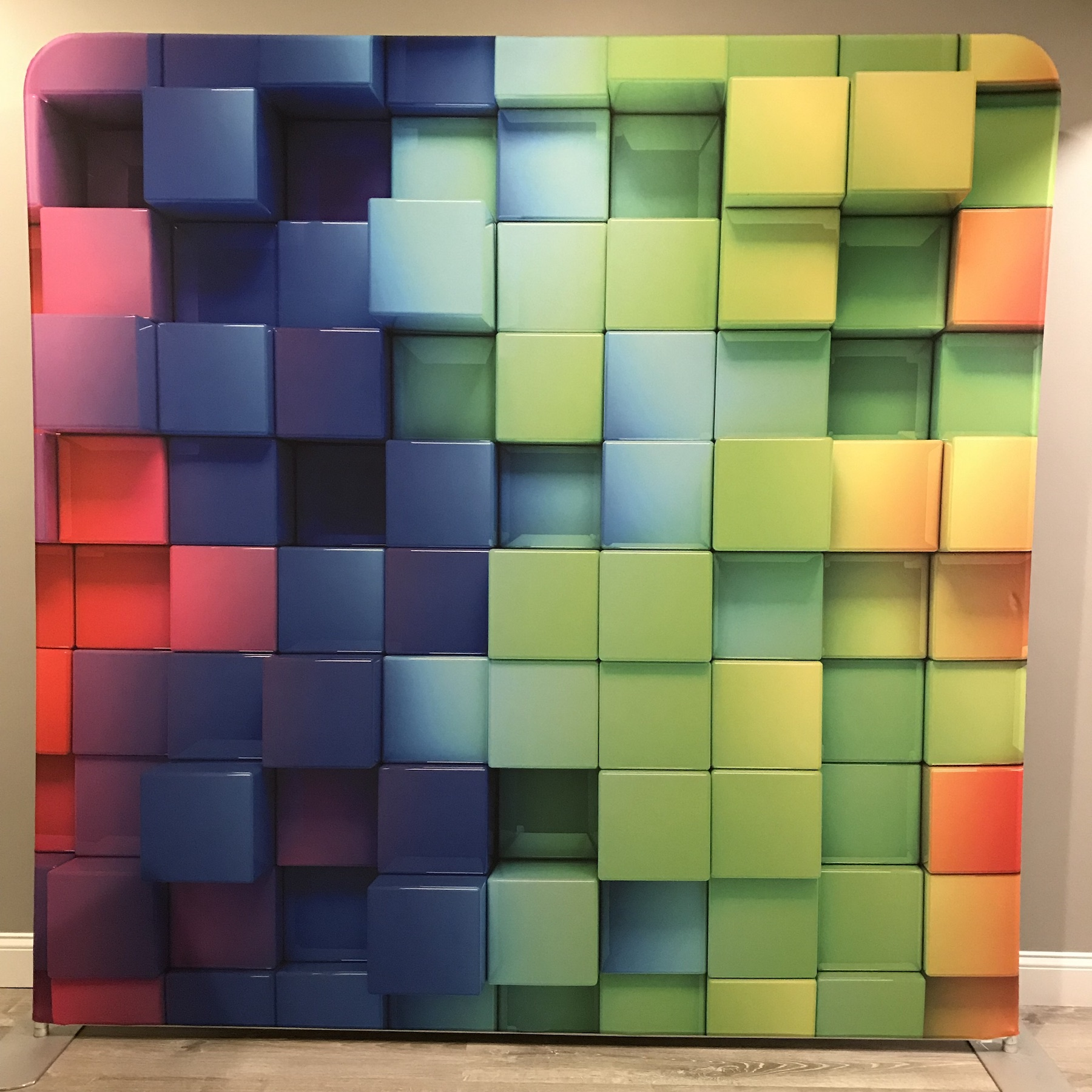"""COLOR 3D RUBIKS CUBES"""