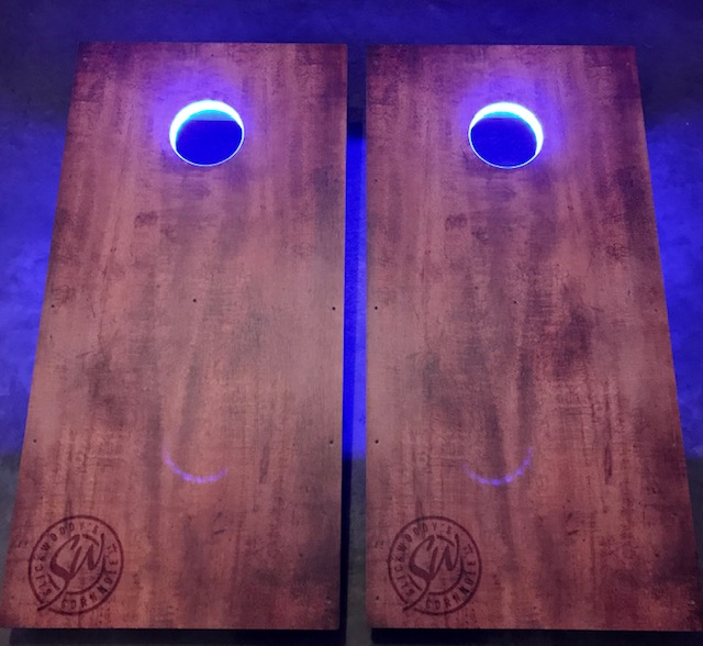 Light Up LED Ring Tournament Size Cornhole
