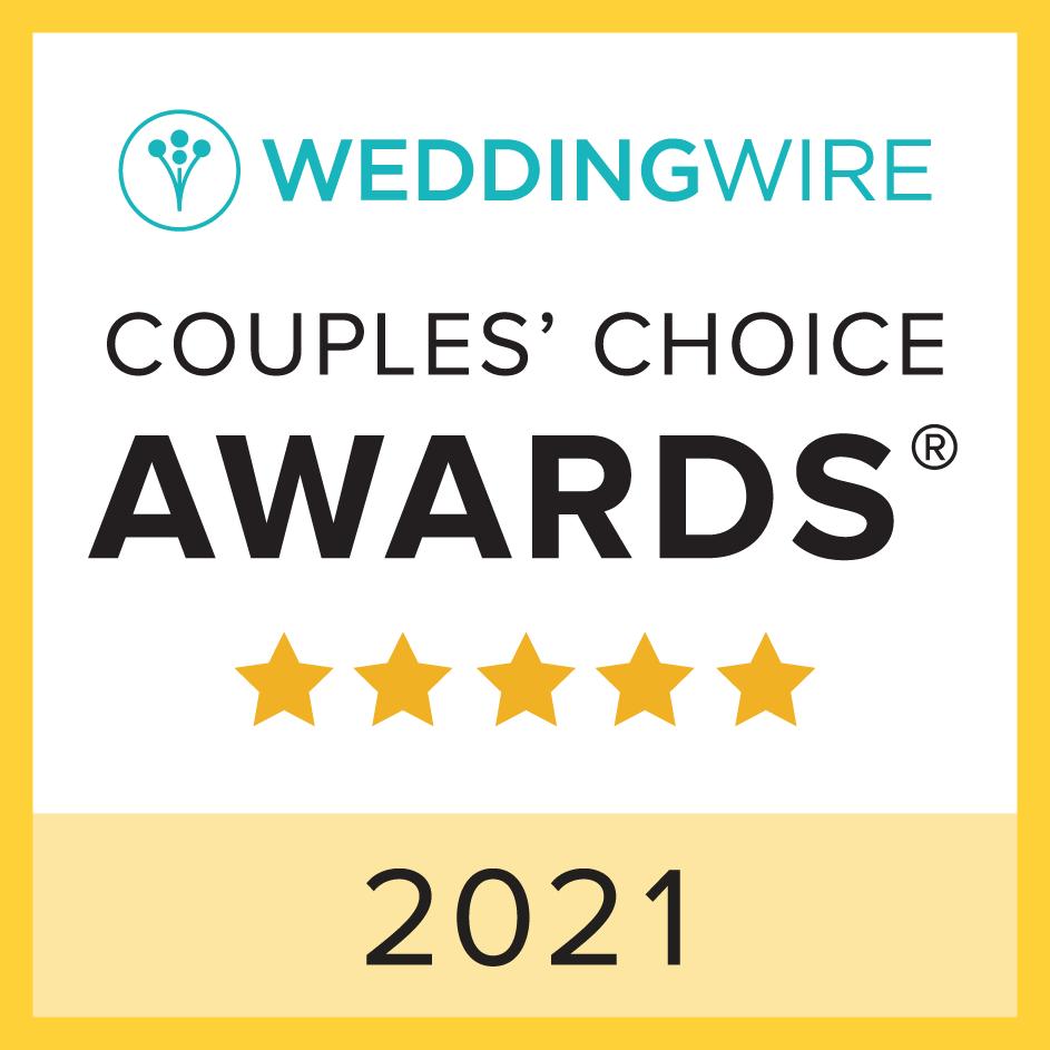 Wedding Wire Couple Choice Awards - 2021